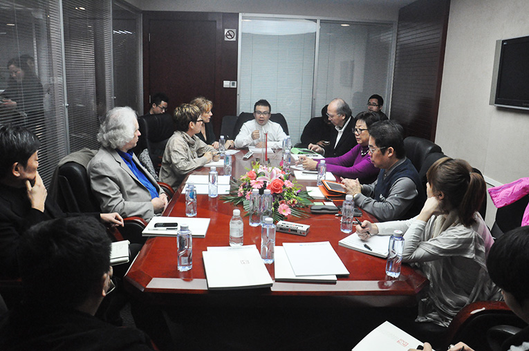Chair Of Malaysia Interior Design Association IPDM Mr Vincent Koh The Conference Attending Committee Members From China That Including LizhouZhang